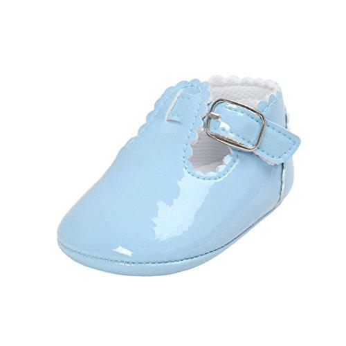 Primeros Zapatos para Caminar,Malloom La Princesa del bebé Sola Suave Calza Las...