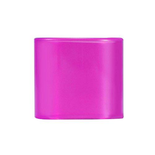 ONEVER Sigaretta elettronica Atomizzatore vetro per TFV8 Big Baby Bestia atomizzatore trasparente rimovibile Vetro -Purple