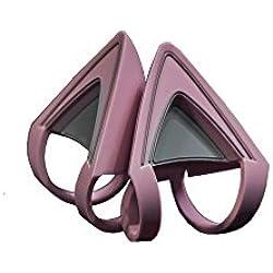 Razer Kitty Ears pour Casques Kraken Compatibles avec Les Casques Kraken 2019, Kraken TE, Kraken X en Quartz Rose pour un Design Individuel