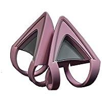 Razer Kitty Ears Katzenohren (für Razer Kraken Gaming Headsets einzigartiger Look und Design für jedes Razer Kraken in Quartz) Rosa