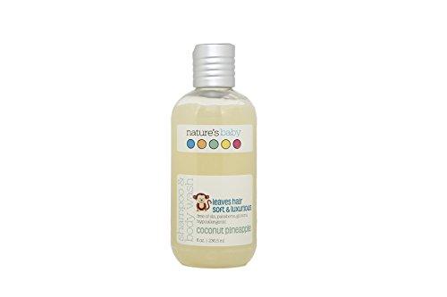 Nature\'s Baby Organics Shampoo & Körperwäsche, Kokosnuss Ananas, 8 Unzen - Babys, Kinder, Erwachsene! feuchtigkeitsspendend, weich, sanft, reich, hypoallergen