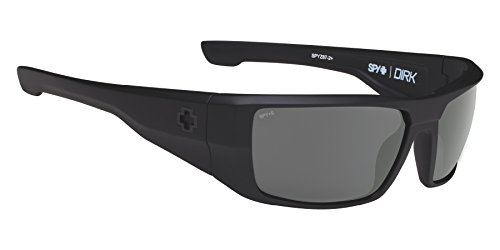 Spy Sonnenbrille Dirk, Soft Matte Black-Happy Grey Green, One size, SPYGLA_DIRK (Oakley Dirt Bike)