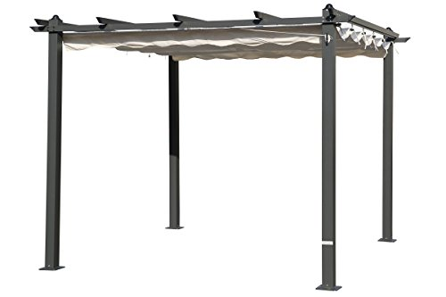 pergola aluminium preisvergleiche erfahrungsberichte. Black Bedroom Furniture Sets. Home Design Ideas