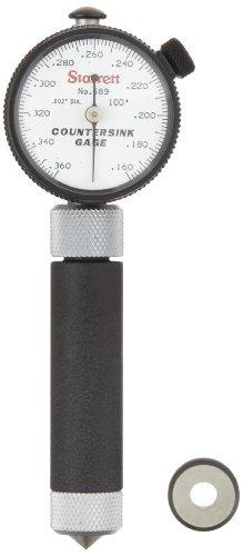 Starrett 689–2Z Zoll Lesung Kegelsenker, 100° Winkel, 0,4–0,9cm Serie