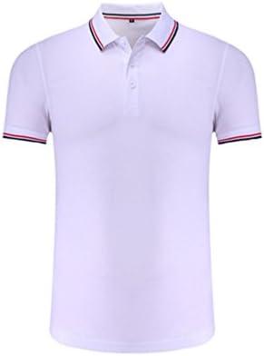 ZKOO Polos Camisas de Polo Hombre Verano Mangas Cortos Algodón Polo Camisa Tennis Deportivas Poloshirts Ocasional Tee-shirt Blusa Tops