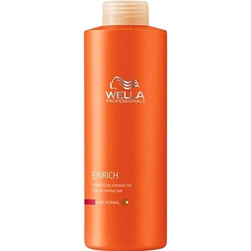 Wella Enrich Shampoo für feines/normales Haar 1Liter