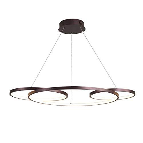 Lámpara colgante minimalista moderno Lámpara colgante LED de ...
