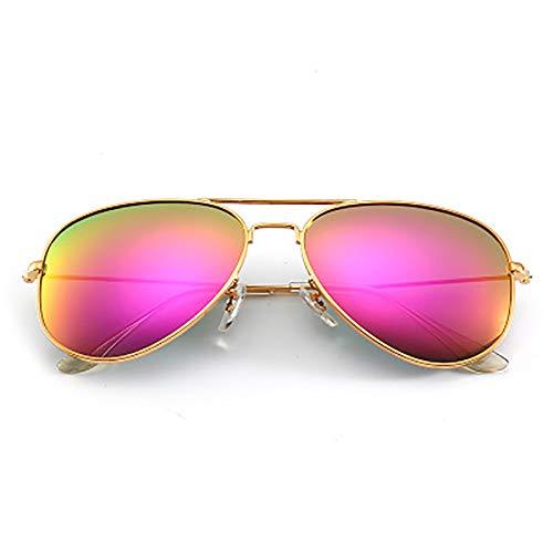 YHYGOO Persönlichkeits-Windshield Sonnenbrille Farbe Film Reflective Frog Mirror Fashion Persönlichkeit Outdoor Reiten Bergsteigersteiger-Pasierzer,Red