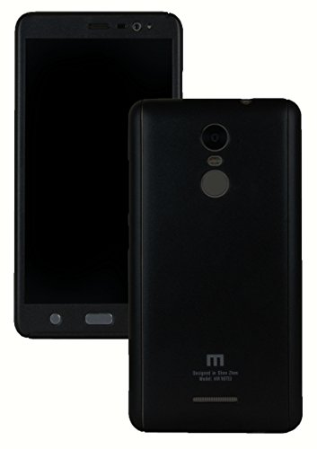Heartly 2 Pcs Design Double Dip Flip Hard Shell Premium Bumper Back Case Cover For Xiaomi Redmi Note 3 - Rugged Black  available at amazon for Rs.399