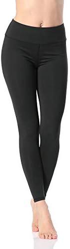 Pau1Hami1ton Women's High Waisted Yoga Pants Capris Leggings 7/8 Workout Running Tights GP