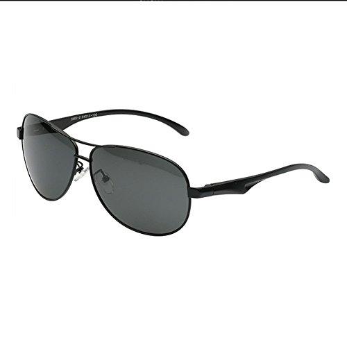 H.ZHOU Polarisations-Gläser der Männer Sonnenbrille, die Sonnenbrillen Fahren (Farbe : 1)