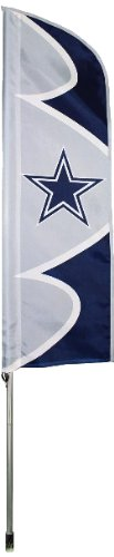 NFL Dallas Cowboys Swooper Flag and Pole
