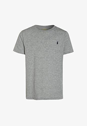 Polo Ralph Lauren - Herren T-Shirt Klassische Passform Kleines Pony Rundhals Baumwolle Verschiedene Farben - Grau, S thumbnail