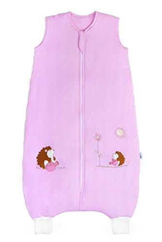 fsack mit Füßen aus Bambus für den Sommer in 1 Tog - Pink Igel - 12-18 Monate/80 cm (Hello Kitty Outfit)