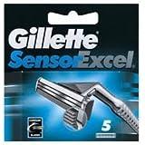 Gillette Sensor Excel Cartridge - 5 Pieces