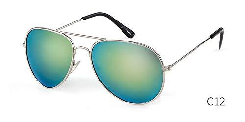 Sonnenbrille Brille Aviation Sonnenbrille Frauen Luxusmarke Designer Gradient Piloten Sonnenbrille Frauen Männer 50 Mm Licht Uv400 Blau Grün