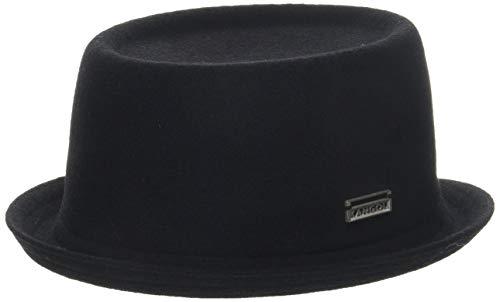 Kangol Wool Mowbray Chapeau Porkpie, Noir, (Taille Fabricant: Large) Mixte
