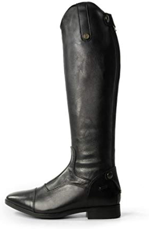 Brogini Casperia stretch soffietto – – – equitazione in pelle equina Outdoor concorrenza, nero | Nuova voce  3f613c