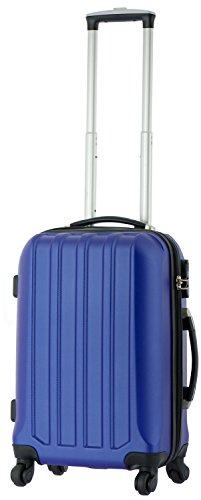 cahoon-reisekoffer-4-rollen-koffer-bordgepck-trolley-hartschale-m-blau