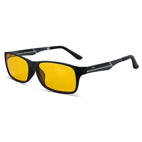 Duco Gamerbrille Blaulicht Schutzbrille Brille Bildschirmfilterbrille Super für Gamer 223 PRO