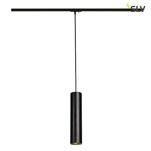 SLV ENOLA_B Indoor-Lampe Aluminium/Stahl Schwarz Lampe innen, Innen-Lampe - 1 Raum Schwarz Stahl