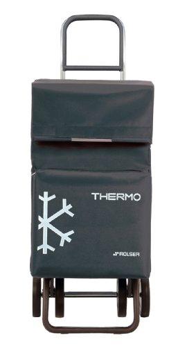 ROLSER Einkaufsroller DOS+2 / Thermo Fresh, TER038, 39 x 31 x 105 cm, 54 Liter, 40 kg Tragkraft, marengo
