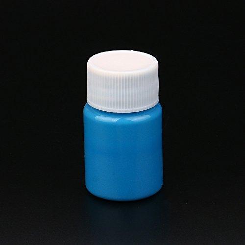Dark Farbe, leuchtet im Dunkeln, Acryl-Leuchtfarbe, helle Pigmente, Party-Dekoration, DIY 20G g ()