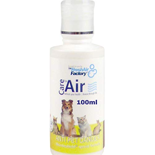 FRAGRANCE FOR AIR PURIFIER - CareforAir Anti Pet Dandruff Essence 100 ml -Elimine The In The Wonderful Fruity Aroma removes Pet Smell -better People With Dogs Pets, Cats, Guinea Pigs, Hamster, Parrot Good Exotic As Snakes, Spiders, Lizards Prevent Allergies caused by domestic Contains MicrobeShield Formula that is a powerful cleaner, Disinfectant and Deodorizer USE REVITALIZERS, IONIZERS, HUMIDIFIERS 100% Product Guarantee Satisfaction