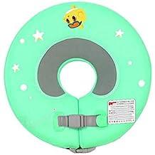Mankvis Cuello de bebé Anillo de natación de Seguridad Piscina Flotador SPA Traje de baño 3