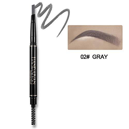 Heaviesk 1 STÜCK Augenbrauenstift Wasserdicht Automatische Augenbrauenstift langlebige Make-Up Schönheit Werkzeuge 5 Farbe Auge Braun Hohe Qualität