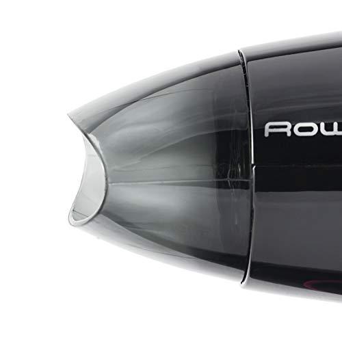 Rowenta Nomad CV3312F0 - Secador de viaje compacto 1600 W con asa plegable con boquilla concentradora, 2 posiciones de velocidad, apta para voltaje de 110 a 240 V