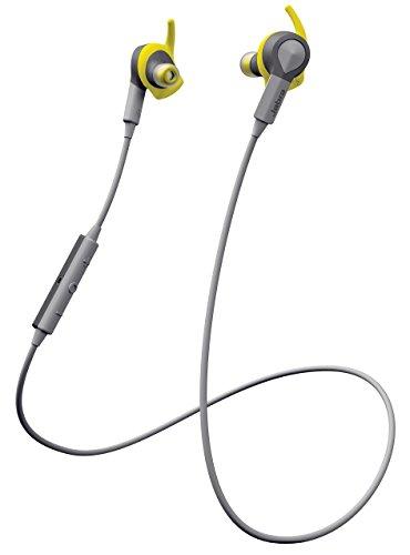 Jabra Sport Coach - Casque Audio Sport sans Fil avec Coaching Vocal - Version FR - Jaune