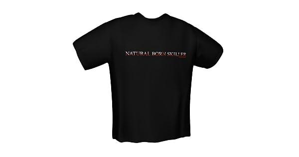 GamersWear Natural Skiller T-SHIRT BLACK XXL