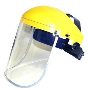 Futuris - Clear Safety Face Shield and Visor - CE EN Tested Grinding Protection Test