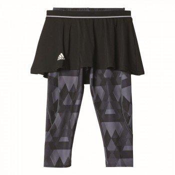 adidas Damen Club Trend Skort-Leggings Women Oberbekleidung, Schwarz, XS