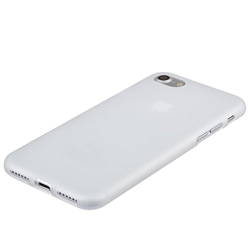 Xcessor Transition Farbe Flexible TPU Case Schutzhülle für Apple iPhone 7 Plus & iPhone 8 Plus. Mit Gradient Silk Gewinde Textur. Transparent / Rosa Semi-transparent