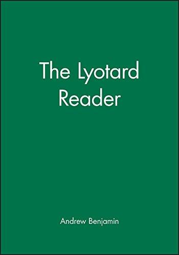 Lyotard Reader (Blackwell Readers)