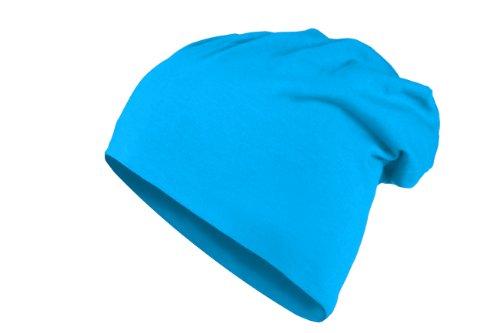 Bonnet Jersey Long de Cotton en plusieurs couleurs Turquoise