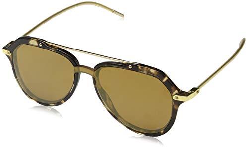 Dolce e Gabbana 0DG4330, Sonnenbrillen für Männer, Havanna Brown, 45