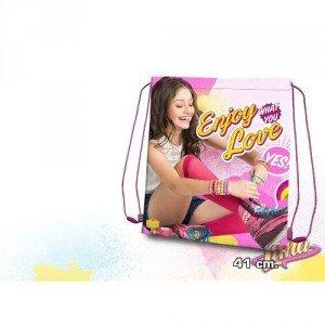 Disney Sac de Gym 41 cm - SOY LUNA Cabas de fitness, 41 cm, Rose