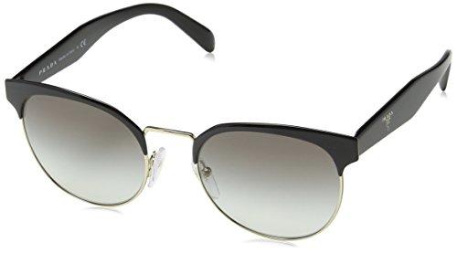 Prada Damen 0PR61TS 1AB0A7 54 Sonnenbrille, Schwarz (Black/Pale Gold/Grey),