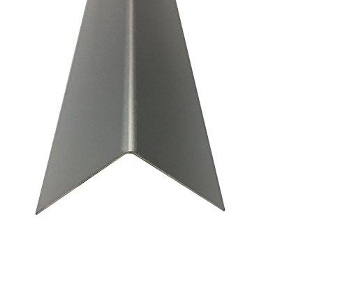 Winkelblech Aluminium Eloxiert Silber natur 2000 mm 1,0 mm (50 x 50 x 1,0 mm)
