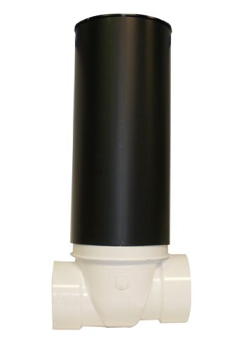 Canplas 223287W PVC Backwater Valve with 16-Inch Access Sleeve and ABS Lid, 3-Inch by Canplas (CANPE)