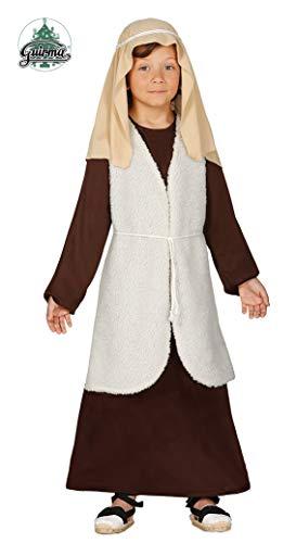 Costume da San Giuseppe bambino recita pastore Presepe vivente 7-9 anni