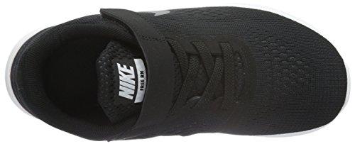 Nike Free Run, Chaussures de Running Compétition Garçon Noir (Black/Metallic Silver/Anthrct)