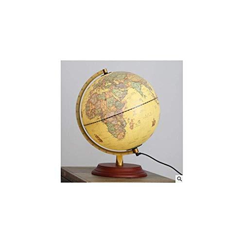 1949shop Dekorative Wohnaccessoires Haushaltsdekor Kunststoff Terrestrial Globe Office Desktop Dekor Geschenk, gelb