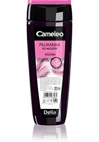 Delia Cameeo Haarspülung Haartönung Rosa  200 ml für Blond, grau und gefärbtes Haar