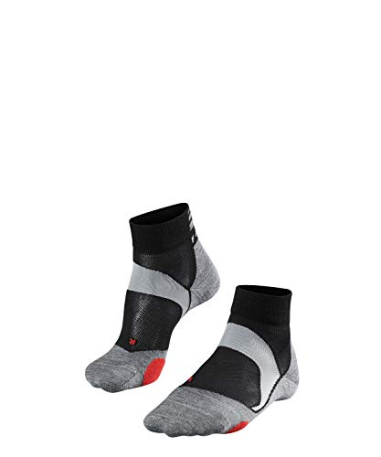 FALKE Unisex Socken bC5 - baumwollmischung, 1 Paar, schwarz (black-Mix 3010), Größe: 42-43