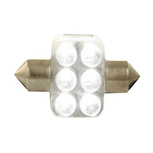 Dectane s31W lED 6 lampes lED 31 mm, blanc