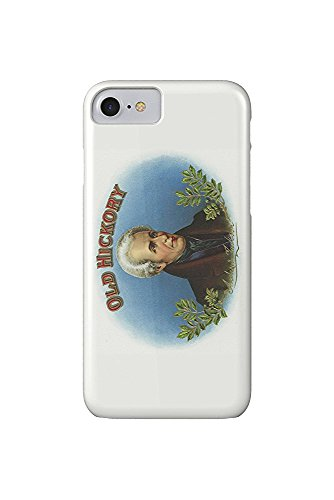Old Hickory Brand Cigar Box Label - Andrew Jackson (iPhone 7 Cell Phone Case, Slim Barely There)